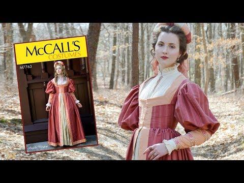 Renaissance Dress Spotlight & Announcement - McCall's M7763
