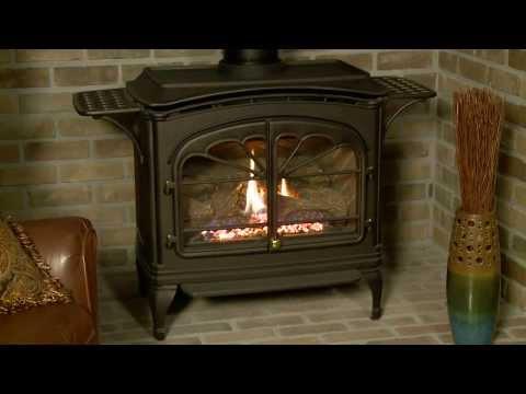 Heat & Glo® Tiara II Gas Stove Video