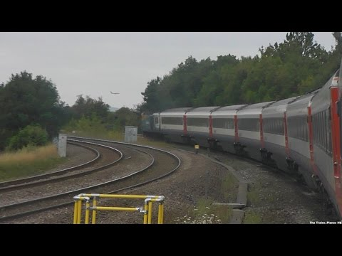 East Midlands Trains HST | Nottingham to London St Pancras 5/8/15