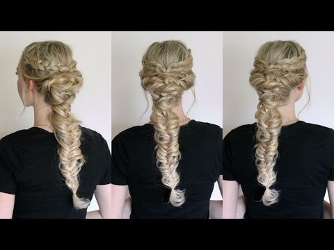 Twisted and Combo Braided Style