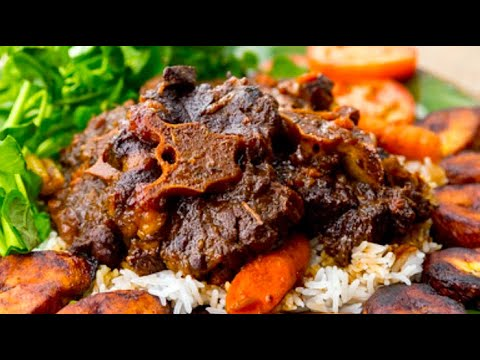 EASY Caribbean Stewed Oxtail Recipe | 2 WAYS | Only 35 mins in Instant Pot!