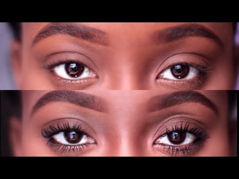 HOW TO Mascara 101 | long lashes w/o Falsies + Tips | JASMINE ROSE black women makeup for beginners