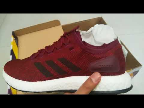 Adidas Pure Boost Unboxing and Review