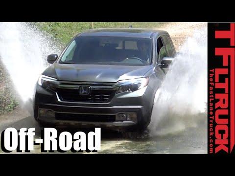 2017 Honda Ridgeline vs Toyota Tacoma Off-Road Mashup Review: Old vs New School AWD