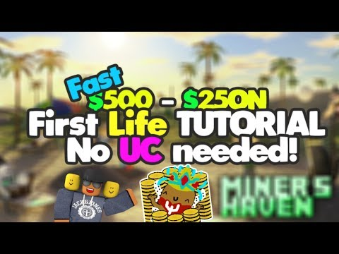 Miners Haven: How to get from $500 - 25Qn v3 (Full first life reborn tutorial) (FASTEST & NO UC)