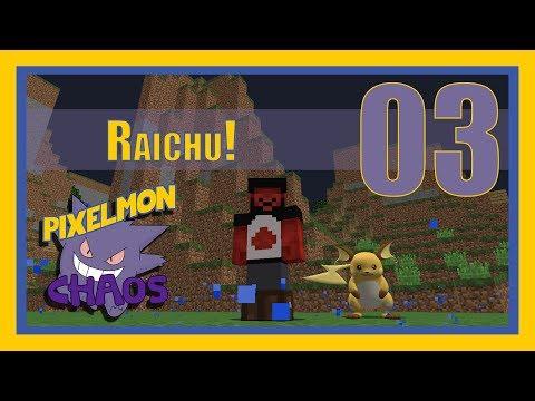 Pokeballs For Days and Finally Some Good Catches! Raichu! Pixelmon Chaos Episode 3 @ikeeluuuuuu