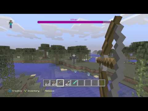 Minecraft Xbox One/360 TU19 - How To Spawn/Kill A Wither Boss - Tutorial On Wither Boss