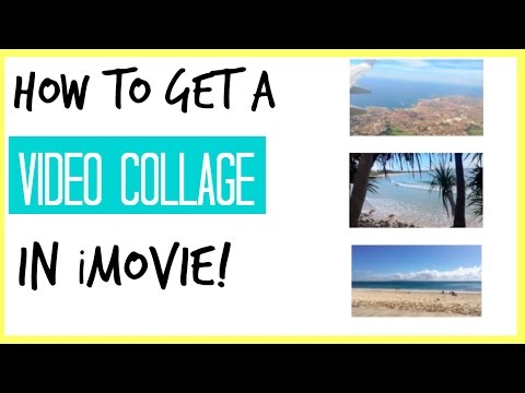 How to make a Video Collage in iMovie! Alana's Editing 101