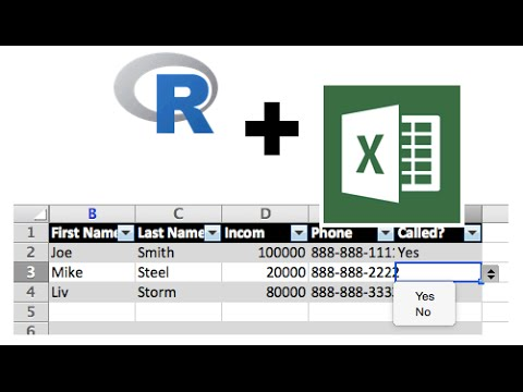 R and Excel: Making Your Data Dumps Pretty with XLConnect