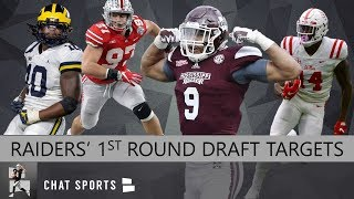 82bd77f67bd Raiders Draft Rumors: 10 Players Oakland Should Target In The 1st Round Of  The 2019