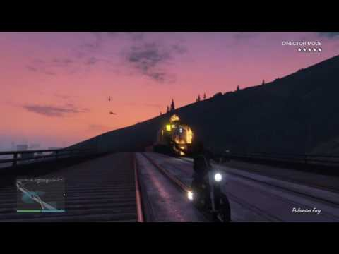 Ghost  Rider's train with Director mode