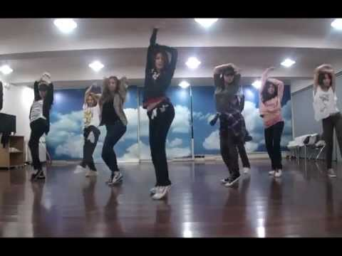 Girls' Generation (소녀시대) - The Boys Official Dance Version (Practice Room)