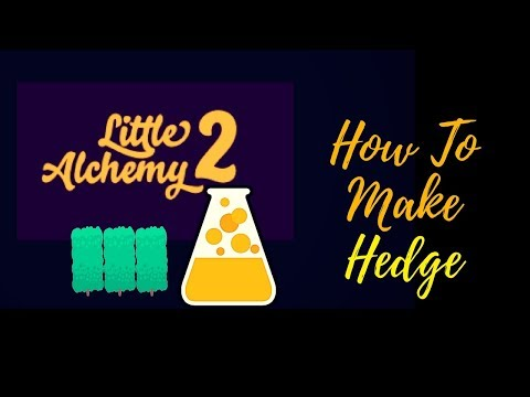 Little Alchemy 2-How To Make Hedge Cheats & Hints