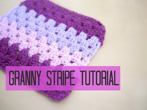 CROCHET: Granny stripe tutorial | Bella Coco