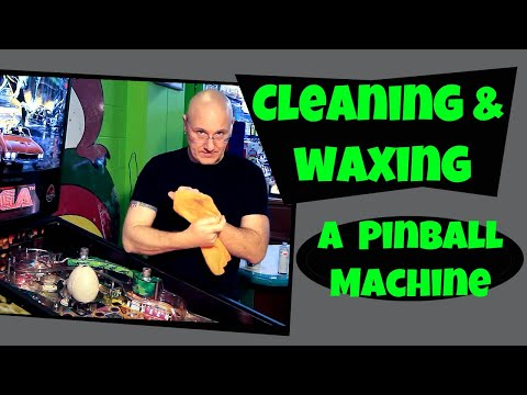 Pinballorama #5 - Pinball Playfields: Routine Cleaning and Waxing