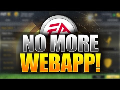 END OF THE FIFA 15 WEBAPP FOREVER?! - FIFA 15 Ultimate Team