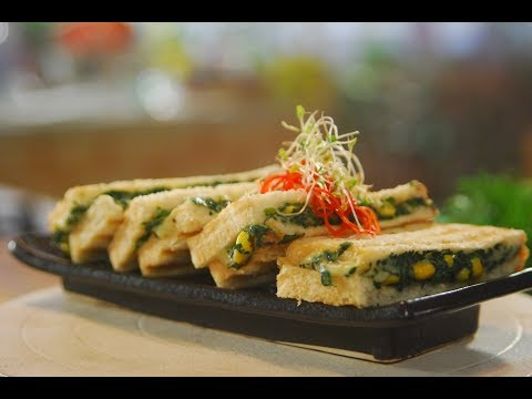 Cheesy Spinach & Corn Sandwich | Cook Smart | Sanjeev Kapoor Khazana
