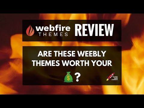 Webfire Themes Review - Premium Weebly Templates