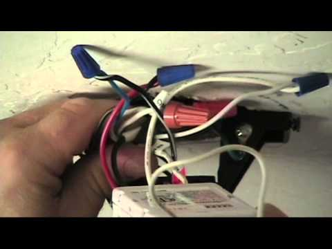 How to Convert a Ceiling Fan to Remote Control