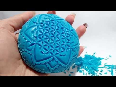 Soap carving - Flower of life
