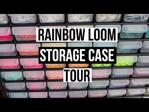 Updated Rainbow Loom Storage!