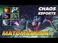 MATUMBAMAN Broodmother Chaos Esports Dota 2 Pro Gameplay
