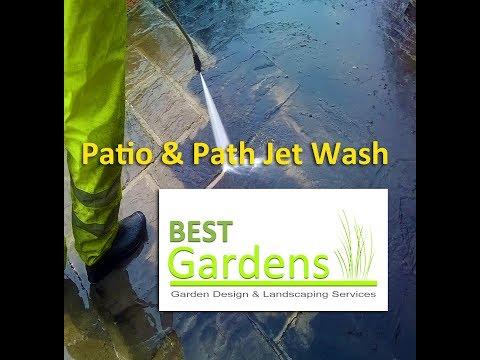 Patio & Path Jet Wash