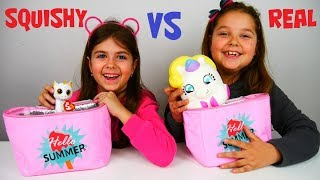 Download SQUISHY VS REAL !!! #ARIADNISTAR Video