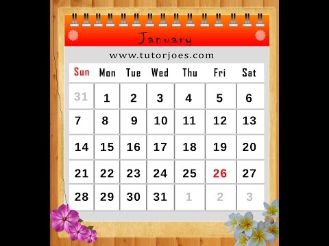 How to Create A Calendar In Photoshop CS3 In Tamil Part   II