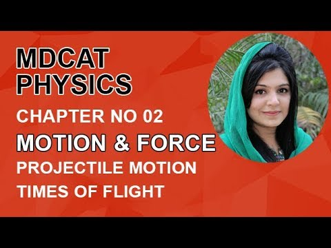 MDCAT Physics Lecture Series, Ch 2, Time of Flight, Physics Entry Test, ch 2