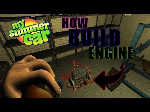 My Summer Car - How Build Engine/Jak złozyć silnik
