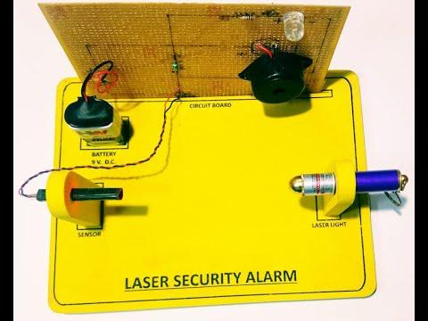 Laser Security System in hindi By Pravesh Kaushik