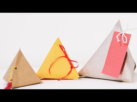 DIY Christmas Crafts : How To Make Your Own Gift Boxes