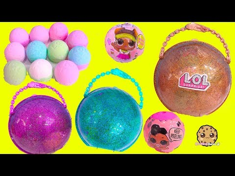 BIG LOL Surprise BAll Haul ! Baby Dolls Sisters + Fizzy Water Bombs