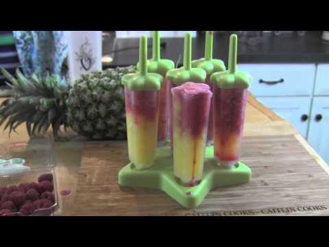 Easy Tropical Popsicles Cocktail | Featuring Guest Star Nana