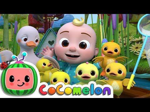 Five Little Ducks 2 | ABCkidTV Nursery Rhymes & Kids Songs
