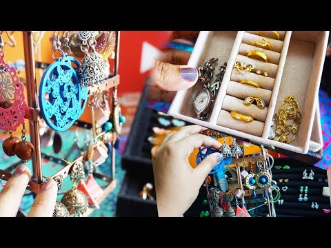 How to organize jewellery at home | Earring storage ideas | jewellery organisation ideas malayalam