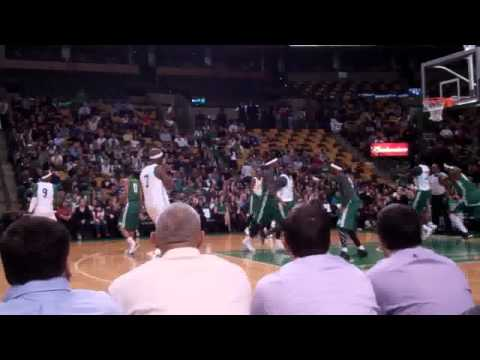 Boston Celtics scrimmage at TD Garden.flv
