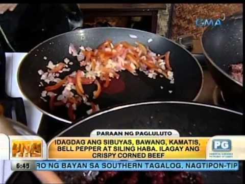 Unang Hirit: Kitchen Hirit: Crispy Corned Beef