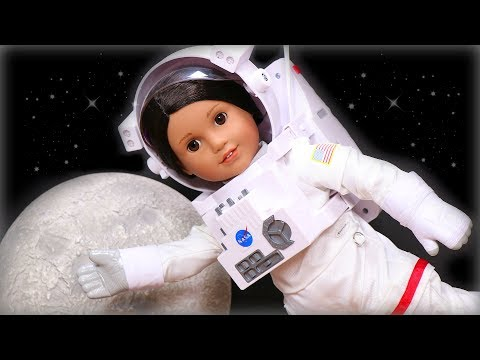 New American Girl Doll Luciana's Astronaut Space Suit Unboxing, Setup & Review