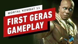 Mortal Kombat 11 Pro Gameplay - Geras vs. Skarlet