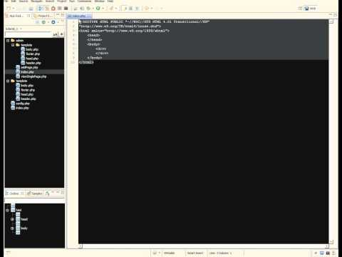 1. Creating a simple website with PHP and MySQL