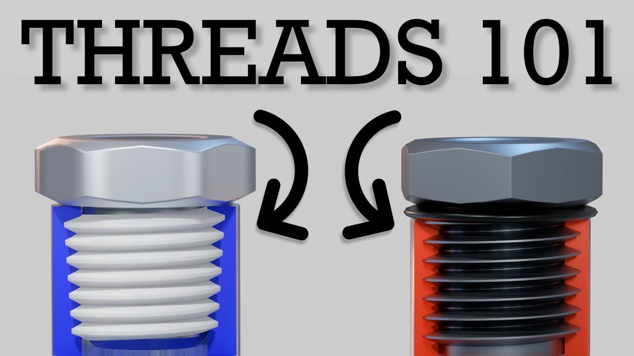 PLUMBING THREADS 101 (EVERYTHING YOU NEED TO KNOW) | GOT2LEARN