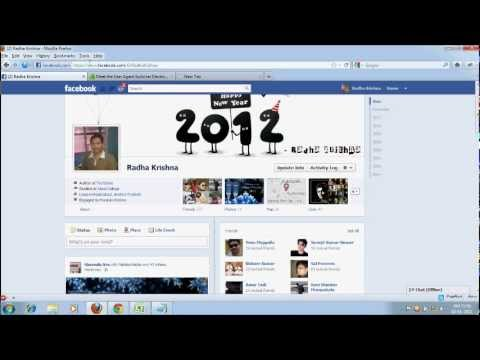 How to Disable or Remove Facebook Timeline Profile View/Look?