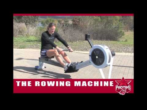 Rowing Tips: Using the Rowing Machine with Susan Francia
