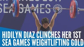 Hidilyn Diaz Clinches Her 1st SEA Games Weightlifting Gold