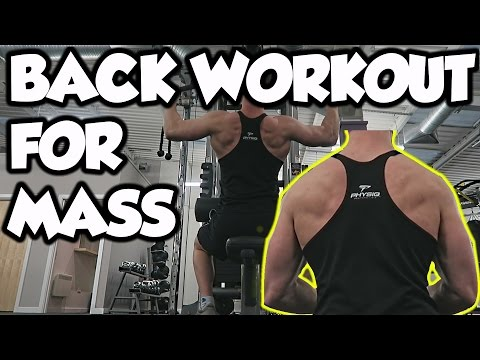 Simple, Quick and Effective Back Workout For Mass