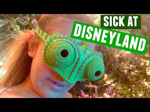 SICK AT DISNEYLAND :(