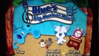 Blues Big Musical Movie DVD Menu Walkthrough