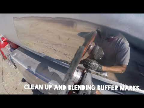 Cutting and finishing travel speed - how to polish aluminum